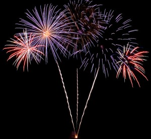 I want fireworks on my icecream...I'm the customer, so go on - delight me!
