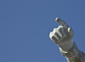 This finger belongs to Queen Victoria. Who is pointing the finger at you in your head?
