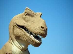"""Mr T-Rex says """"Get some CV action or you're nuts!"""""""