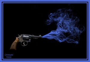 The smoking gun...but who was the real culprit in the story?