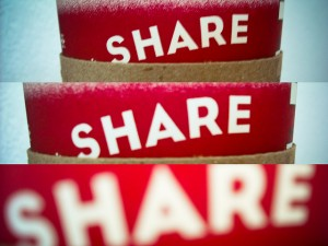 Save time by sharing